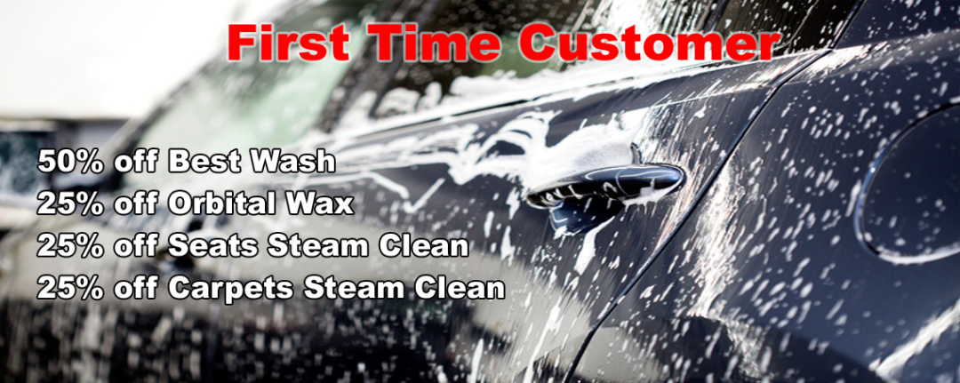 First Time Customer- Great American Car Wash