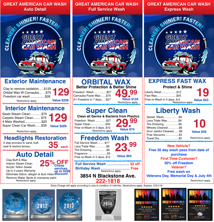 Coupons great american car wash coupons solutioingenieria Images