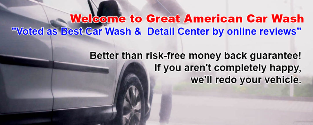 Great American Car Wash Fresno Cleaner Shinier Faster